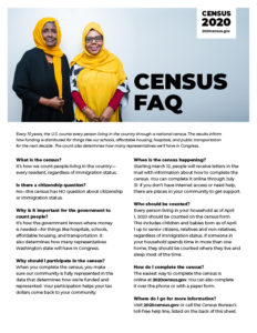 Censusfaq Flyer B Image