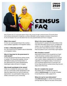 Censusfaq Flyer B Image