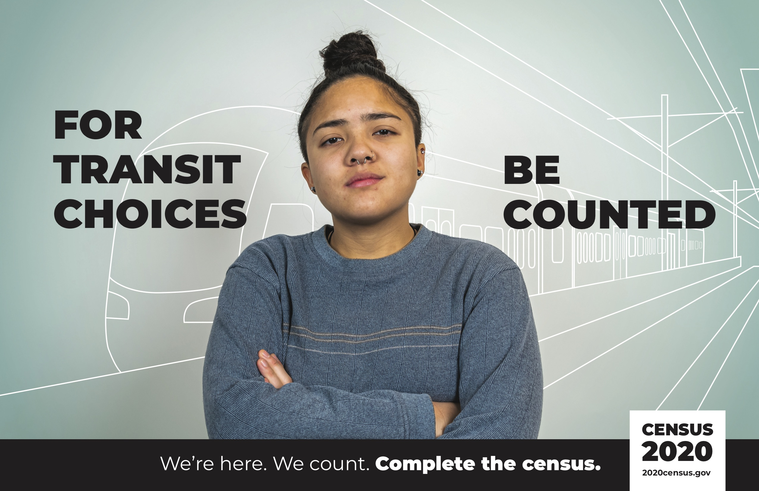 Census Poster Transit